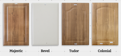 Majestic, Bevel, Tudor and Colonial Style Wrap Doors