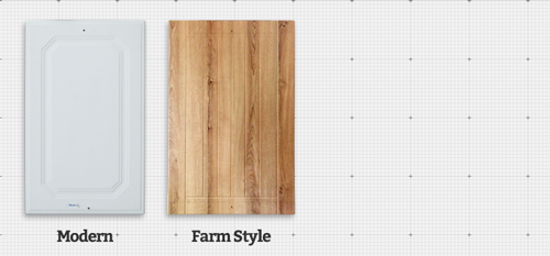 Modern and Farm Style Wrap Doors.
