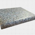 amber granite postform top